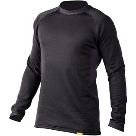 NRS H2Core Expedition T-shirt manches longues Homme, charcoal heather